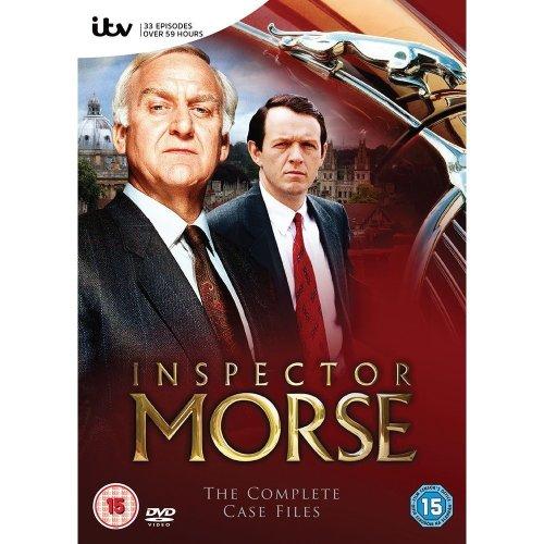 Inspector Morse: The Complete Case Files   DVD Boxset
