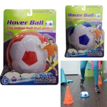 HOVER BALL SOCCER FOOTBALL INDOOR GAME SAFE FUN GLIDING FLOATING FOAM