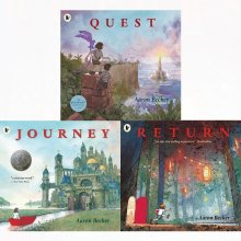 Journey trilogy aaron becker 3 books collection set