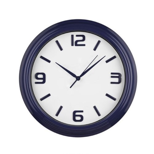 Sleek and Stylish Midnight Blue Wall Clock