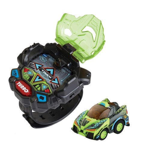 Vtech Turbo Force Racers Remote Control Toy Car Green