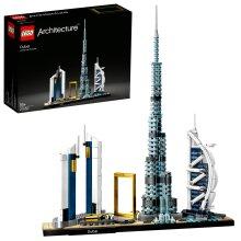 LEGO 21052 Architecture Dubai Model, Skyline Collection, Collectible Building Set