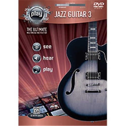 Alfred 00-36369 PLAY:JAZZ GTR 3-DVD