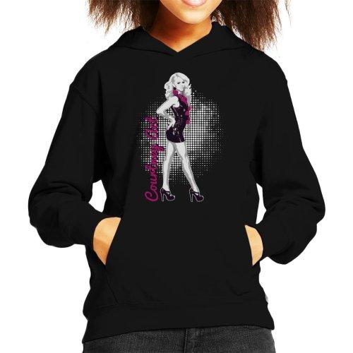 Drag Queens Courtney Act Kid's Hooded Sweatshirt