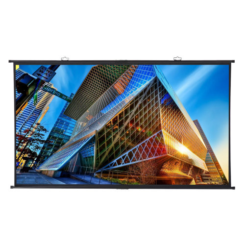 """120"""" 16:9 Home Install Wall-mounted Projector Projection Screen 4K HD W/ Hanging"""