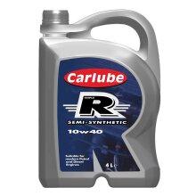 Carlube Triple R 10w40 Semi Synthetic Engine Oil - 4L