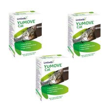 Yumove for Cats Stiff Hip & Joint Support Supplement 60 Capsules Pack Of 3