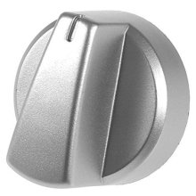 Genuine Belling Silver Oven / Cooker Control Knob