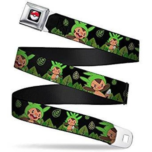 Seatbelt Belt - Pokemon - V.36 Adj 24-38' Mesh New pka-wpk106