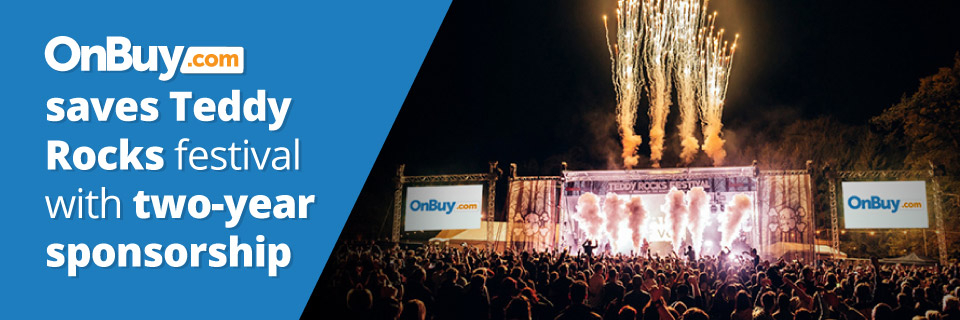 OnBuy Saves Teddy Rocks Festival With Two-Year Sponsorship