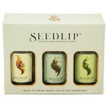 Seedlip Mini Trio Alcohol Free Spirit 3x 200ml Gift Box Set
