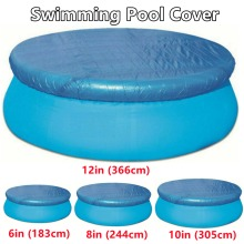 Round Swimming Pool Cover for Bestway Outdoor Family Garden Paddling Pools Cover 4 Sizes