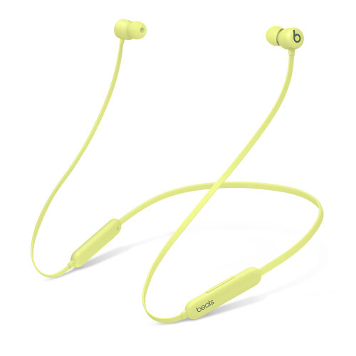 Beats Flex - All-Day Wireless Earphones - Citrus Yellow | MYMD2ZM/A