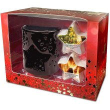 Heart & Home Christmas Wax Melt Warmer Gift Set
