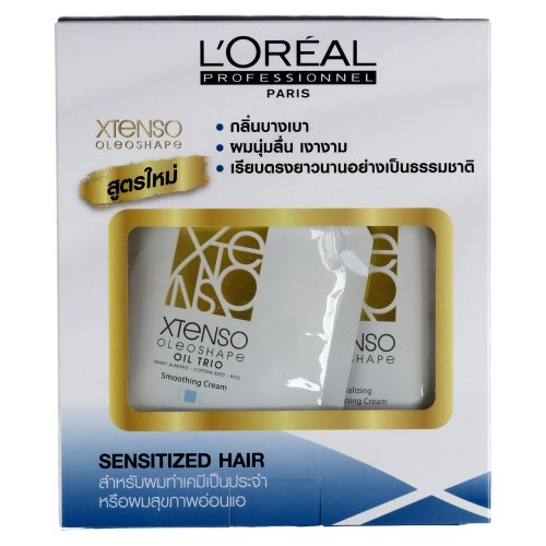L'Oreal Xtenso Oleoshape Hair Straightener Set for Sensitized Hair 125ml + 125ml