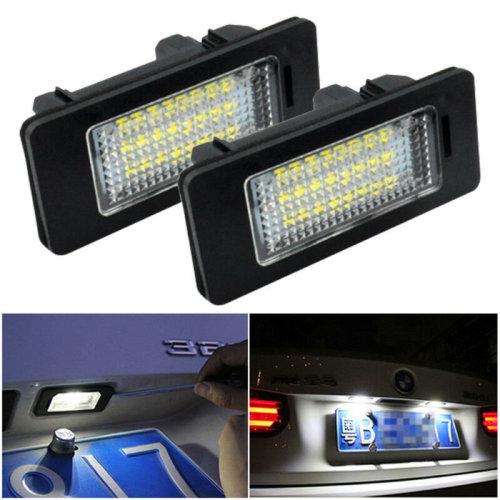 LED License Number Plate Light For BMW E39 E60 E82 E70 E90 E92 X3/5/6