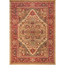 Momeni Rugs Ghazni Collection, Traditional Area Rug, 3'11 x 5'7, Beige