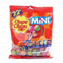 Chupa Chups Mini Bag of 22 Lollies - Assorted Flavours