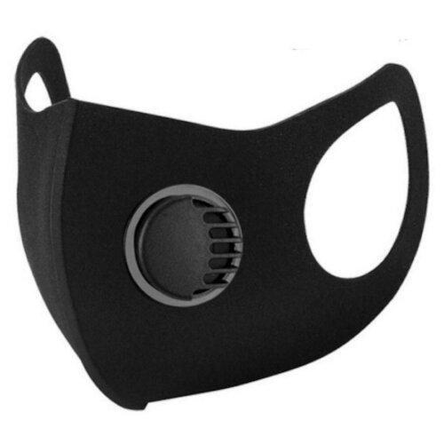 (Black Valve) Reusable & Breathable Adult Unisex Face Mask