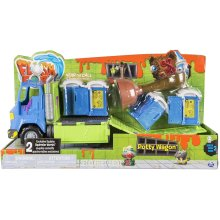 Flush Force — Series 2 Potty Wagon, with Gross Collectible Figures for Kids Aged 4 and Up (Colours/Styles May Vary)
