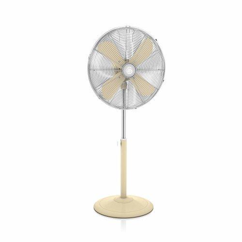 Swan Retro Standing Fan - Cream