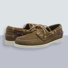 Sebago Men's Docksides Portland Nubuck Boat Shoes