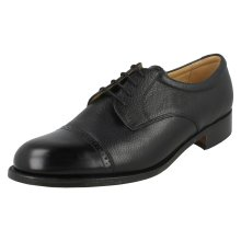 Mens Barker Brogue Style Shoes Staines - H Fit