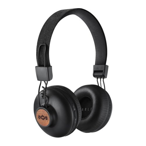 House Of Marley Positive Vibration 2 Wireless Bluetooth Headphones - Black, Black
