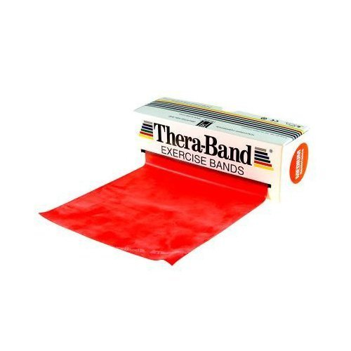 Thera-Band® In 45 M Rolls Red, Medium