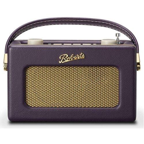 Roberts Revival Uno DAB/DAB/FM Digital Radio + Alarm Mulberry Purple
