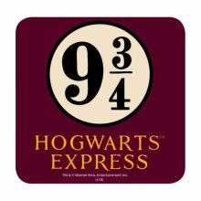 Harry Potter Coaster Platform 9 3/4 Hogwarts Express new Official