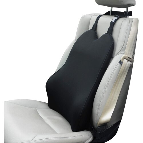 Dreamer Car Lumbar Support for Car Seat Driver- Supportive and Comfortable Memory Foam Back Cushion Back Support for Car for Lumbar/Back Pain Relief