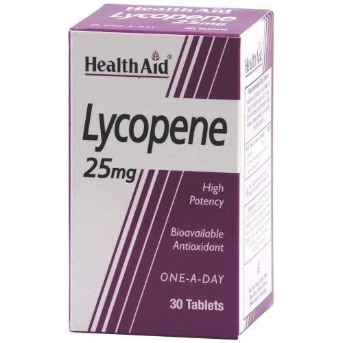 Healthaid Lycopene 25mg Tablets 30's