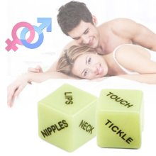 Glow in the Dark Love Dice Adult Sex Aid Game Kama Sutra Hen Stag Night