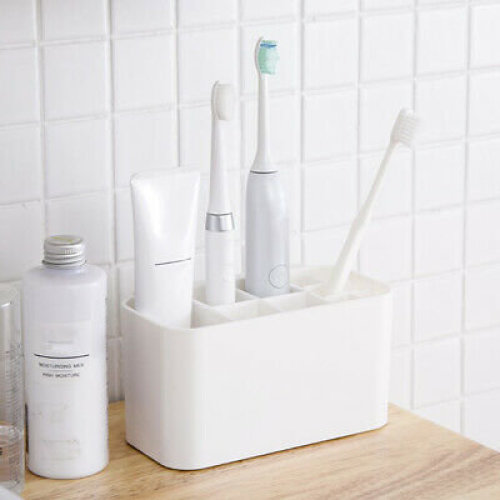 Bath Wall Mounted Electric Toothbrush Holder Stand Organizer