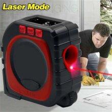 3in1  Digital Laser Point Distance Meter Tape Range Finder Measure