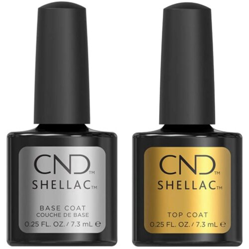 CND Shellac UV Base and Top Coat 7.3ml