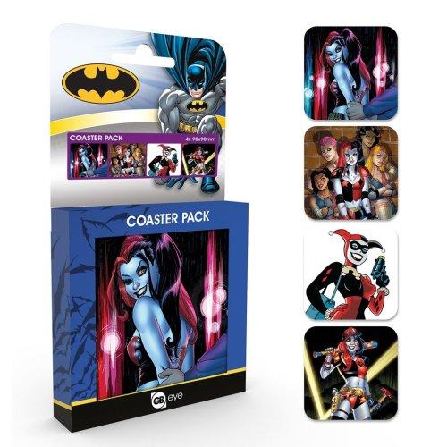 DC Comics - Harley Quinn Coaster Set [2017]