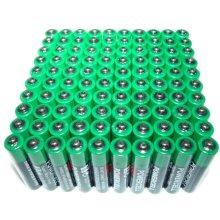 100 x AA Zinc Extra Heavy Duty Battery Powercell 1.5v Batteries