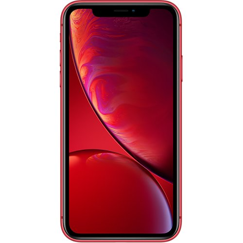 (Unlocked, 64GB) Apple iPhone XR | (Product) Red