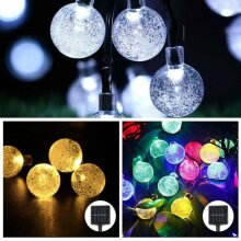 50 LED Solar Powered Garden Party