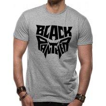 Black Panther Adults Unisex Logo T-Shirt