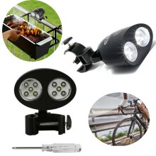 Outdoor Bright LED Barbecue Grill Light 360° Rotation10 LED Handle Mount