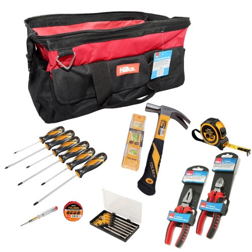 (Tool-Mate 21pc Hand Tool Kit with Toolbag) Tool-Mate 21pc Hand Tool Kit with Toolbox or Bag