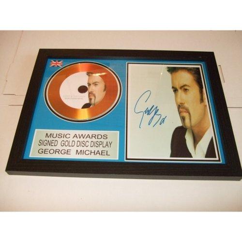george michael  gold disc