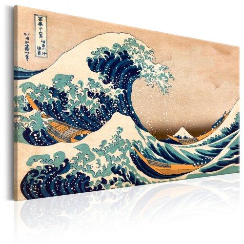 Canvas Print - The Great Wave off Kanagawa (Reproduction)