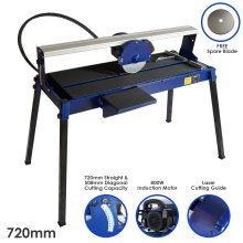T-Mech Wet Saw Tile Cutter Stand Bench Table Diamond Blade / 720mm