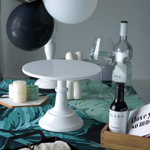 (White) Cake Stand Pedestal Dessert Round Holder