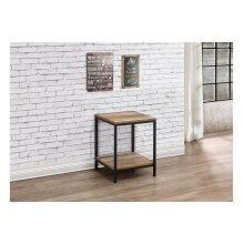 Birlea Urban Living Room Furniture Range - Industrial Design with Metal Frames#Lamp Table