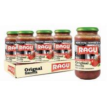 Ragu Original Smooth Sauce Bolognese Pasta Sauce Pack of 6 x 500g